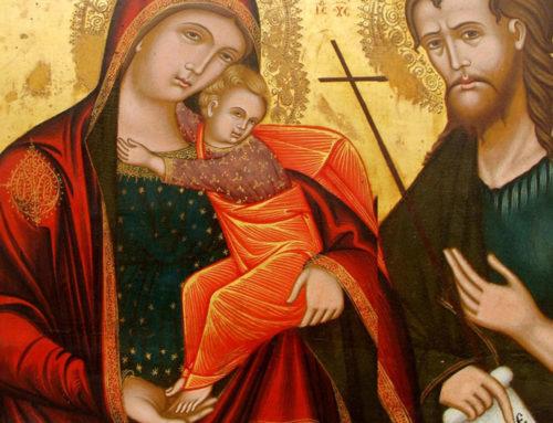 L'icona della Madre di Dio con il Bambino e San Giovanni Battista- seconda parte (di Don Nicola Mattia)