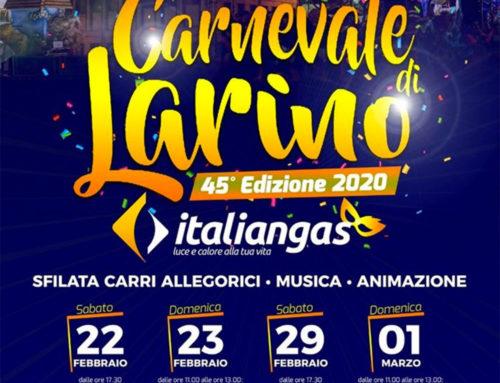 Larino, prove tecniche di rilancio con il turismo tra Luminarie e Carnevale (di Michele Mignogna)