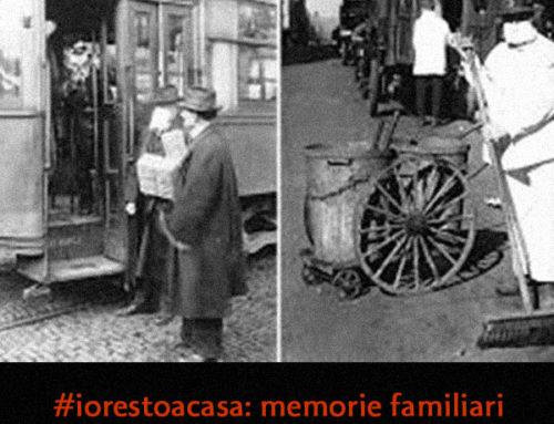 """#iorestoacasa: memorie familiari della """"Spagnola"""" di un secolo fa (di Simonetta Tassinari)"""