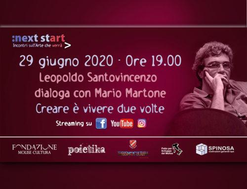 A Next Start Leopoldo Santovincenzo dialoga col regista Mario Martone