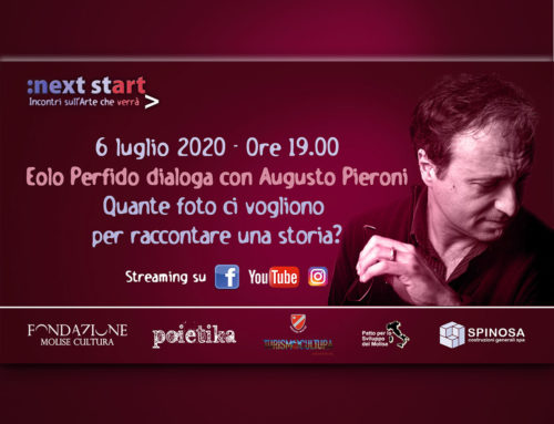 "A ""Next Start"", Eolo Perfido dialoga con Augusto Pieroni"