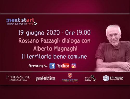 """Il territorio bene comune. A """"Next Start"""" ne parlano Rossano Pazzagli e Alberto Magnaghi"""