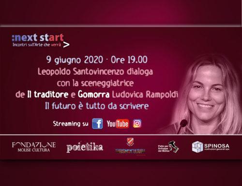 """Il futuro è tutto da scrivere. A """"Next Start"""" Leopoldo Santovincenzo dialoga con Ludovica Rampoldi"""