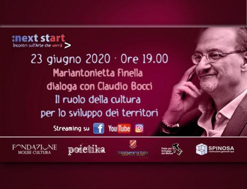 Il ruolo della cultura per lo sviluppo dei territori. A Next Start l'ex direttore di Federculture, Claudio Bocci