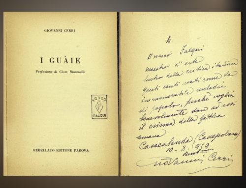 Giovanni Cerri, un melodramma in una sola serenata (di Giovanni Mascia)