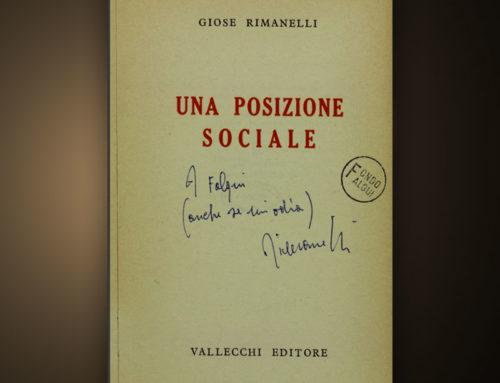 Una tragedia di Giose Rimanelli in una sola battuta alla Biblioteca Nazionale di Roma (di Giovanni Mascia)